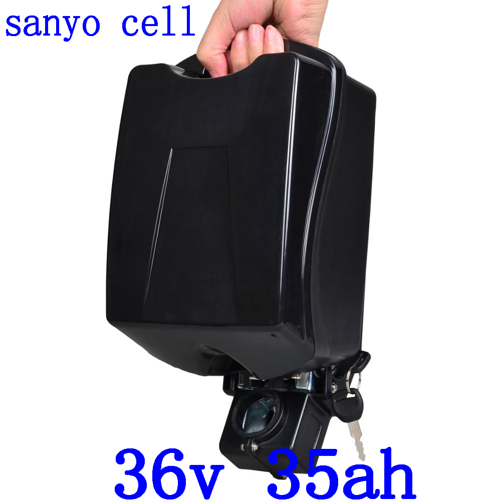 36V 500W 1000W Ebike Battery 36V 35AH Electric Bike Battery 36V 20AH 25AH 28AH 30AH 31AH 35AH Lithium Battery use sanyo cell