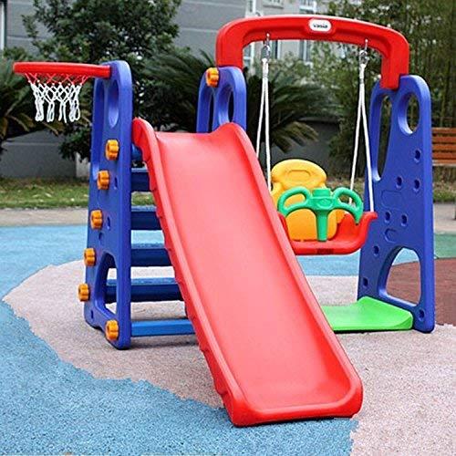 цена на Climber & Swing Sets 4-in-1 Multifunction Outdoor Indoor Safe Nontoxic PU Children's Slide Climber Swing Sea Ball Pool Play Set