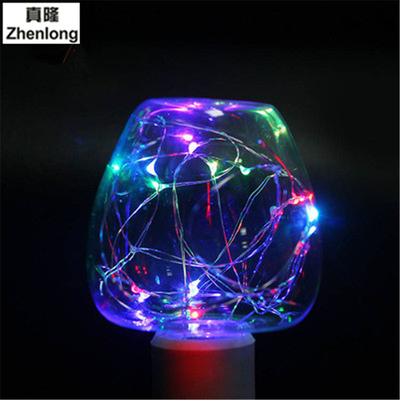 Led Decorative Lighting: Copper Wire Ball Creative Decorative Lights Apple Shape