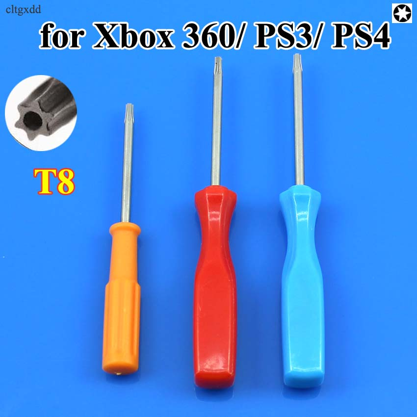For XBOX PS3 T8//T9//T10 Tamper Proof Screwdriver Security Torx Driver Disassembly