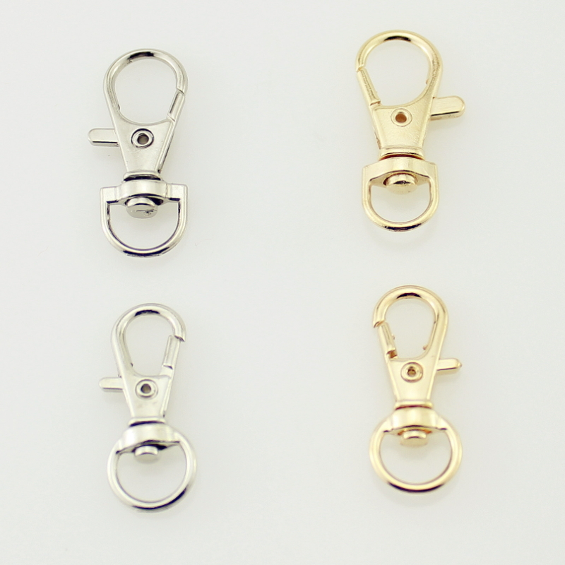 4Color L-60mm Luggage Straps Metal Buckles Hanger Lobster Clasps Swivel 1//5Pcs