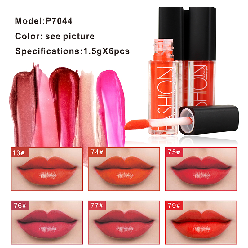 2018 New Moisturizer Liquid Lipstick Beauty Make Up Nutritious Lips Pigment Waterproof Lipgloss Tint Brand Lip Glaze Cosmetic in Lip Gloss from Beauty Health