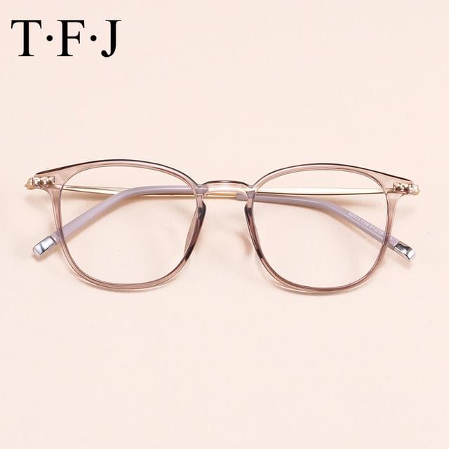 19cd64b89c1ad Computador Óptico Transparente Óculos de Armação Óculos Mulheres Homens  óculos de Grau Femininos Transparente Armação de
