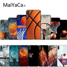 MaiYaCa Баскетбол черный ТПУ мягкий резиновый чехол для телефона чехол для iphone 7 7plus X 8 8plus и 5 5S 6s 6s Plus Чехол для мобильного телефона