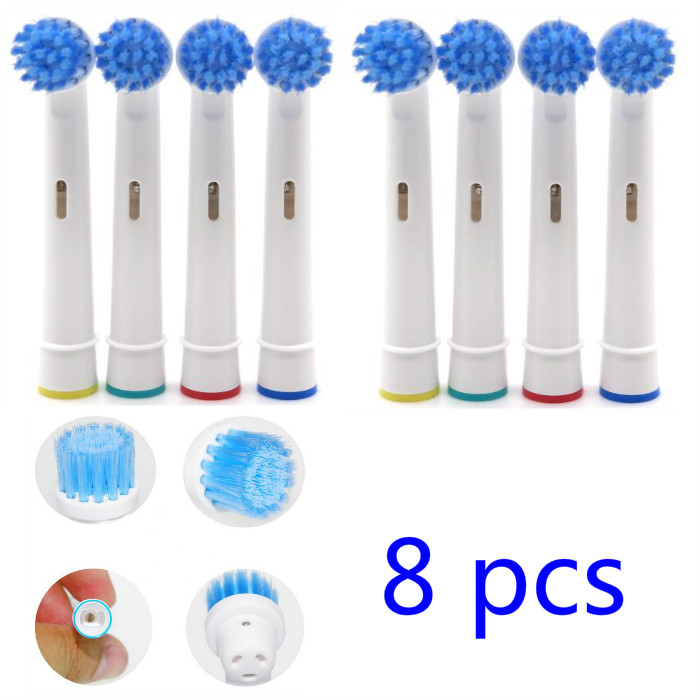 8pcs Replacement Kids Children Tooth Brush Heads For Oral-B Electric Toothbrush Fit Advance Power/Pro Health/Triumph/3D Excel8pcs Replacement Kids Children Tooth Brush Heads For Oral-B Electric Toothbrush Fit Advance Power/Pro Health/Triumph/3D Excel