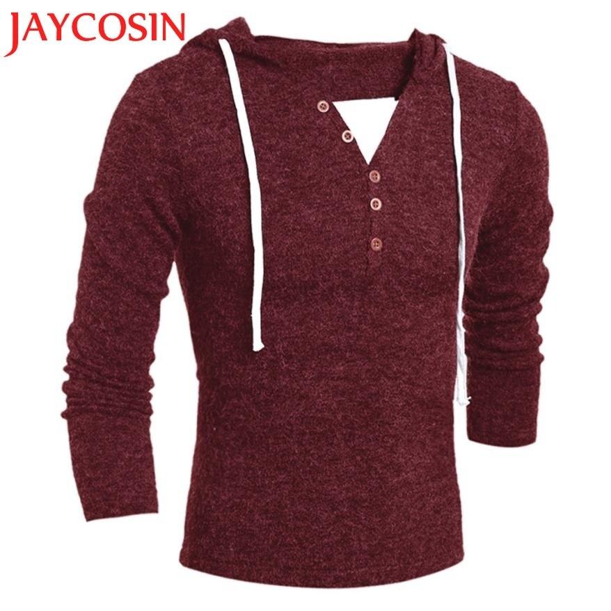 Для мужчин с капюшоном Cloth2018New брендовые мягкие модные Стиль Повседневное мягкие теплые зимние с капюшоном подходят Tricot Для мужчин с капюшо...