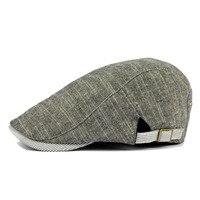 クラシック英国スタイルユニセックスキャスケット帽子貧しい男の子bakerboy綿混紡運転キャップ平たい帽子男
