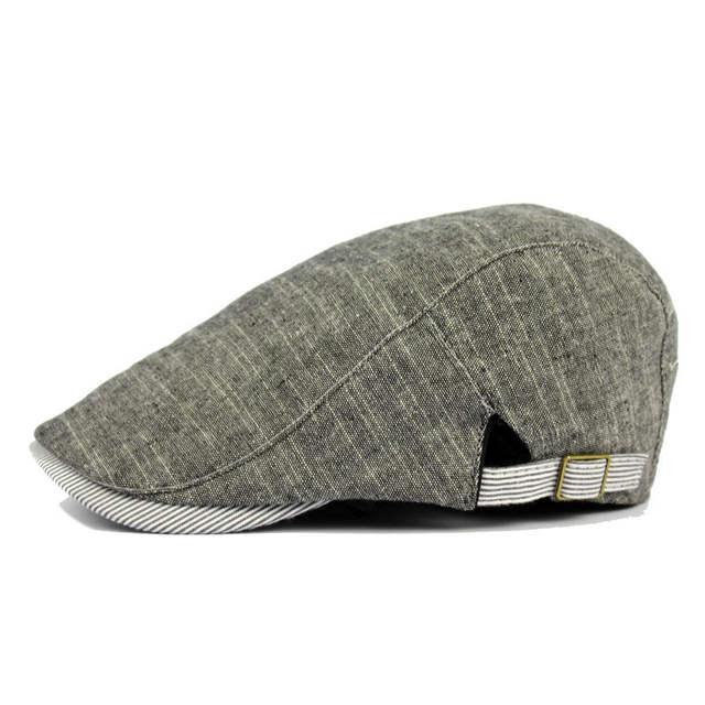 Classic British Style Unisex Newsboy Hat Poor Boy Bakerboy Cotton Blend Driving  Cap Flatcap For Men 78b332be07