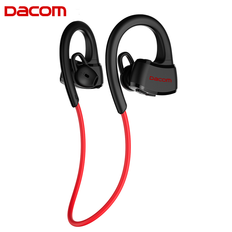 DACOM P10 Bluetooth Earphone IPX7 Waterproof Swimming Running Headphone Wireless Sports Stereo Music Headset BT4.1 for phones remax bluetooth v4 1 wireless stereo foldable handsfree music earphone for iphone 7 8 samsung galaxy rb 200hb