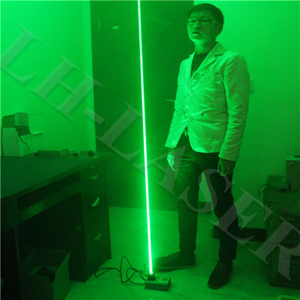 Custom 532 nm 100 mw thick beam laser base Laser foot Double laser sword LaserMan show