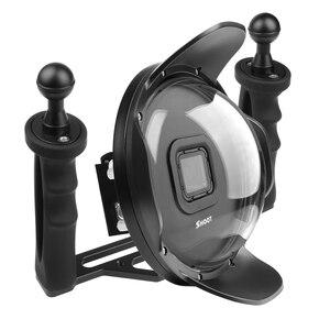 """Image 3 - 6 """"ดำน้ำใต้น้ำกล้องเลนส์ Dome W/Fisheye มุมกว้างเลนส์สำหรับ GoPro"""