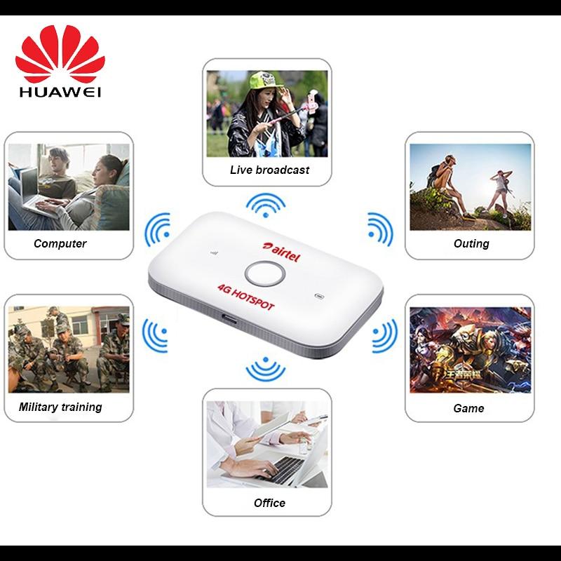 Original Unlocked Huawei E5573cs-609 4G Router Portable WiFi Car WiFi Modem  Dongle Lte Wifi Router Pocket Mobile Hotspot