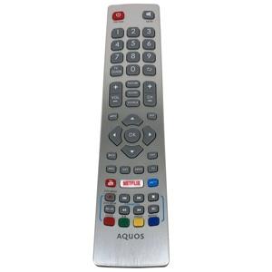 Image 3 - جهاز التحكم عن بعد الأصلي الجديد لشارب Aquos HD تلفاز LED ذكي DH1901091551 مع مفتاح نيتفليكس يوتيوب Fernbedienung