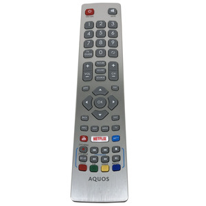 Image 3 - NEW Original remote control For SHARP Aquos HD Smart LED TV DH1901091551 with YouTube NETFLIX Key Fernbedienung