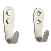 Storage-Tools Stainless-Steel Door-Hook Wall-Hangers Holds Kitchen Organizer Cabinet