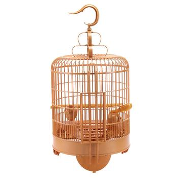 Bird Cage Breathable Travel Carrier Assembly Bird Cage With Feeder &Waterer Small Pet Bird Plastic Bird House Thrush Parrot Cage