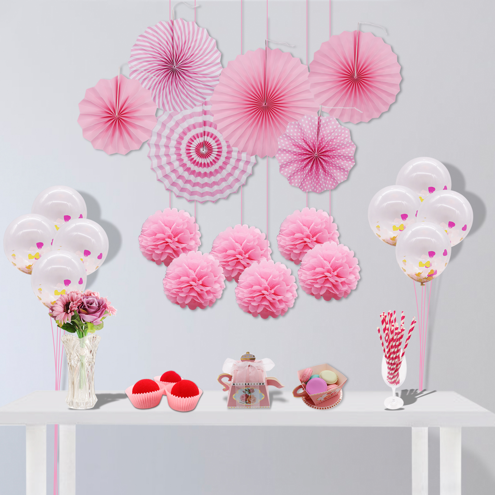 8 inch 20 cm Round Paper Lanterns Lamp Shade Wedding Party Christmas ...
