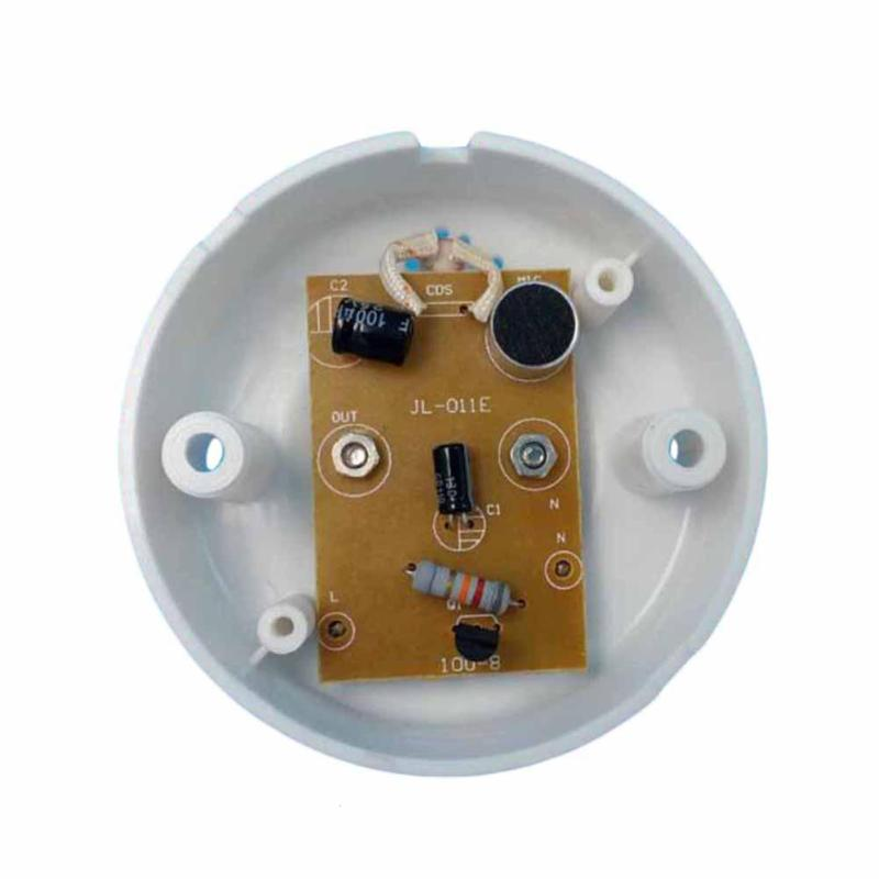 Image 4 - Universal E27 110V 220V 50Hz Lamp Holder Sound Voice Control Induction Light Bulb Switch Adapter for corridors passageways Z3-in Remote Controls from Consumer Electronics