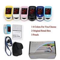 Health Care Measure SpO2 And PR Accurately LED Fingertip Pulse Oximeter Spo2 Blood Oxygen Monitor