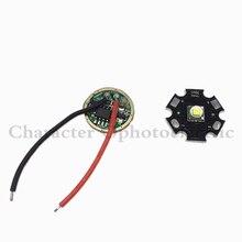 Новинка 10 Вт 20 мм/16 мм холодный белый Cree XM L T6 XML T6 светодиодный светильник + DC 3,7 в а T5 T6 светодиодный диммер драйвер для DIY фонарика
