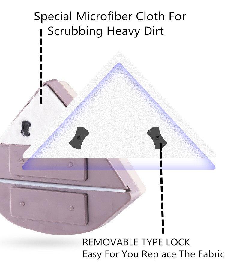 Домашний стеклоочиститель, щетка для чистки стекла, инструмент 3 35 мм, регулируемая двухсторонняя Магнитная щетка для мытья окон, щетка для мытья стекол, чистка - 3