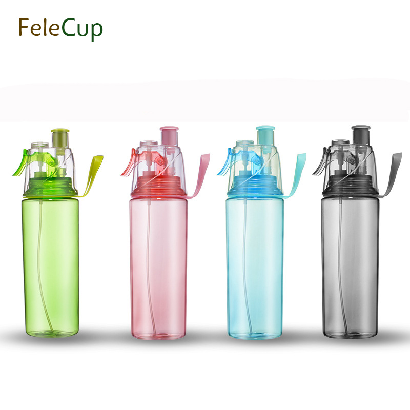 New 2018 600ml BPA free foldable Sports Gym  drinking bottles