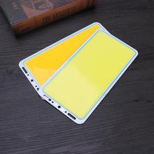 12V 70W 7000LM LED Panel Light LED Strip Light COB Lamp White/Warm White Soft High Brightness Energy Saving 220X120mm