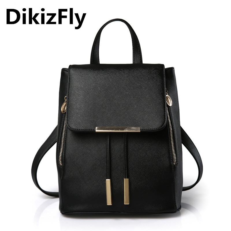 2017 New Brand Fashion Design backpack Preppy style backpacks bag Simple school leisure backpack Solid mochila