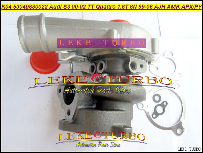 K04 22 53049700022 53049880022 06A145704P Turbo For AUDI S3 2000-02 TT Quattro 1999-06 AJH AMK APX APY 1.8T 1.8L 8N 225HP kkk turbo charger 06a145704m 06a145702 06a145704p turbine core assembly chra 225hp apx for audi tt quattro 1 8 t 1999 2002