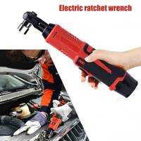 Wireless Electric Ratchet Wrench Tool Kit Chargeable Impact Scaffolding Power Tool Wrench QJS Shop