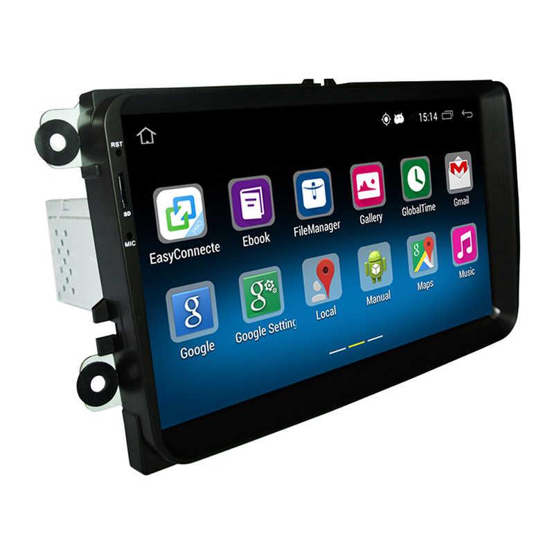 RM-VWTY90 Android 5.1รถวิทยุเครื่องเล่นสเตอริโอGPS 1กรัมDDR3 + 16กรัมหน่วยความจำNAND F LashสำหรับVW P Assatกอล์ฟMK5 MK6 Jetta T5 EOSโปโล