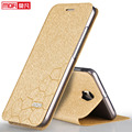 Mofi meizu pro 6 case capa back flip de couro de luxo originais 32g 64g meizu pro6 mx6 pro pro 5 mini telefone fundas tpu silicone