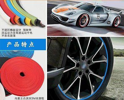 8 metra / zvitek 3M avto pnevmatika za avtomobile, dekorativna - Zunanja dodatna oprema za avtomobile - Fotografija 3