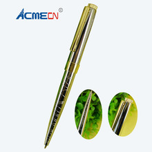 Silver Geometry Pattern Ball Pen Brass Luxurious Unisex Pens for Birthday Gifts Parker style refill Retractable 1703B-C