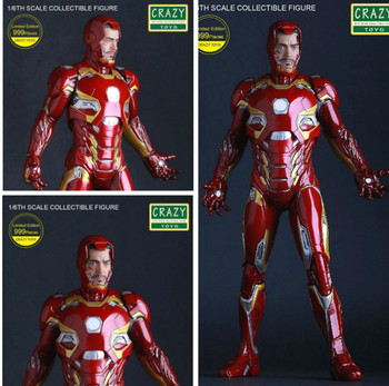 "Iron man mk45 Avengers Marvel crazy toys 30cm 12/"" figure New in box"