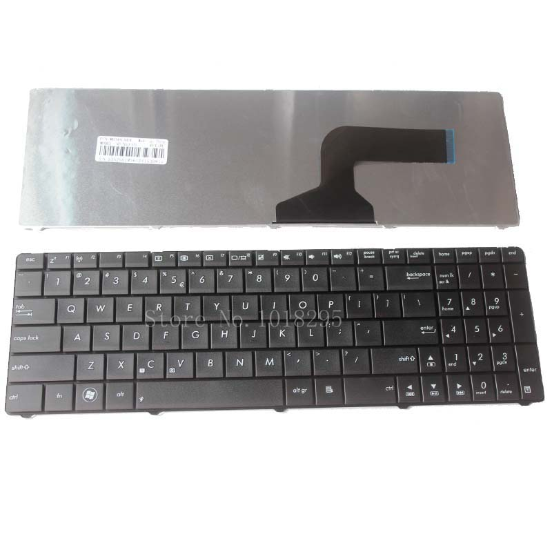NEW US Laptop Keyboard FOR ASUS K54C K54L K54LY X54C X54L X54LY K55D K55N K55DE K55DR Keyboard US Black