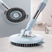 Adjustable 360 Rotating  Floor Mop Household Use Cleaning Brush Cleaning Window Floor Automatic Mop Ceramic Tiles Floor Cleaning цена и фото