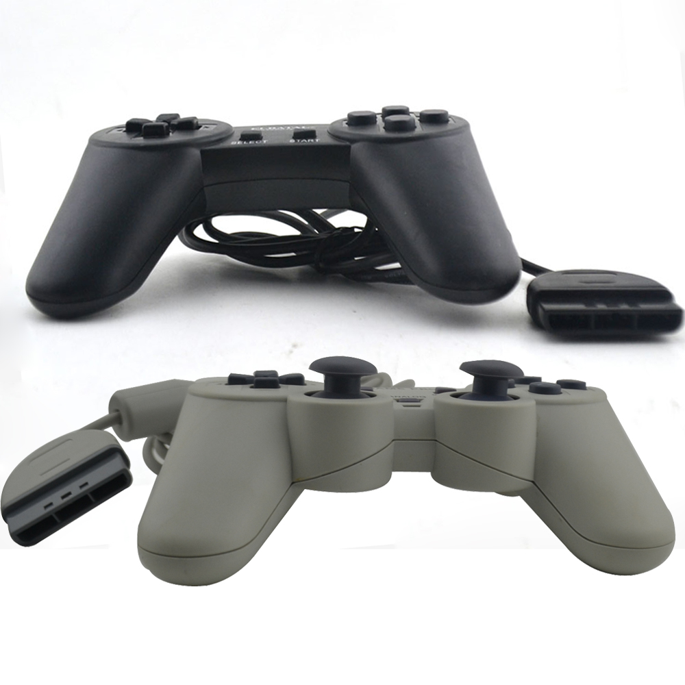 50 pcs a lot High quality Classic Wired Joypad/Gamepad joystick for PS/ PS ONE controller For Playstation1