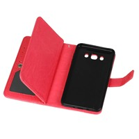 E SKY Leather Mobile Phone Case With 9 Card Slot Wallet Phone Shell Flip Stand Design