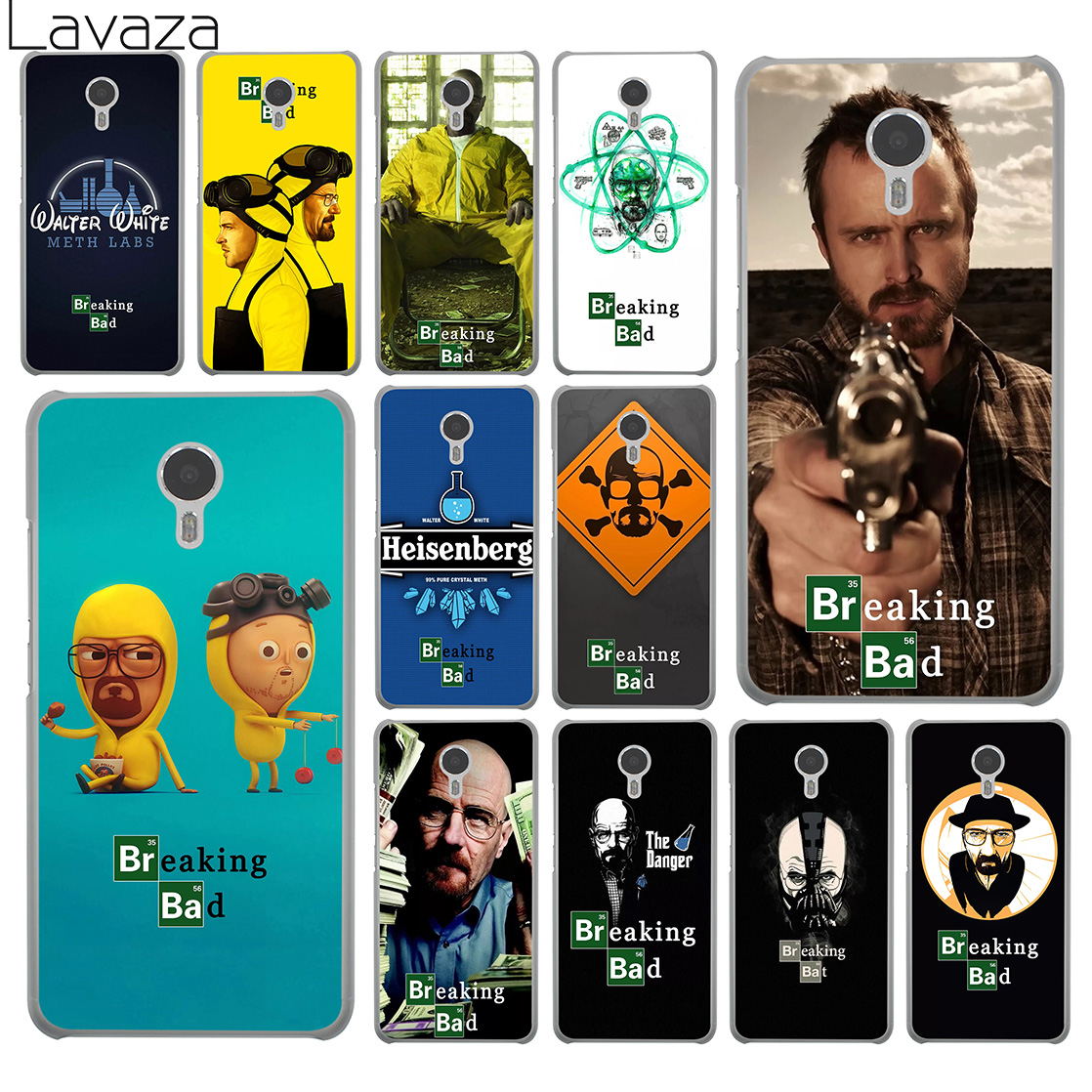 Lavaza Breaking Bad heisenberg tv series Hard Phone Case for Meizu M6 M5 M5C M5S M3 M3S M2 Mini Note U10 U20 Pro 7 Plus 6 Cover ...