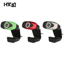HXSJ USB 2.0 Digital Video Webkamera Webcam Web Kamera HD Pixel Mit Sound Absorption Mic Mikrofon Für Desktop PC Runde
