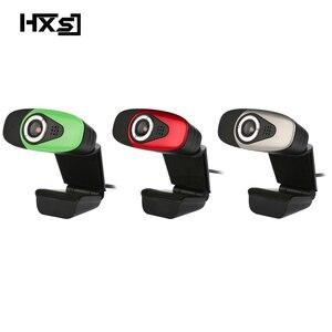 Image 1 - HXSJ USB 2.0 Dijital Video Webcamera Webcam Web Kamera HD Piksel Ses Emilimi Ile Mic Mikrofon masaüstü bilgisayar Lap
