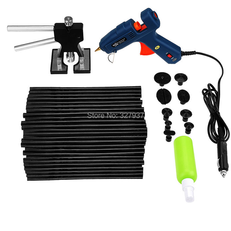 ФОТО PDR Tools Kit Paintless Dent Repair Tools Dent Removal Dent Puller Dent Lifter Glue Gun Suction Cup Hand Tools Set