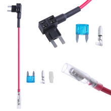 Micro Mini Blade ATM Fuse Adapter Dual Circuit Adapter Holder For Car Auto 1 Set