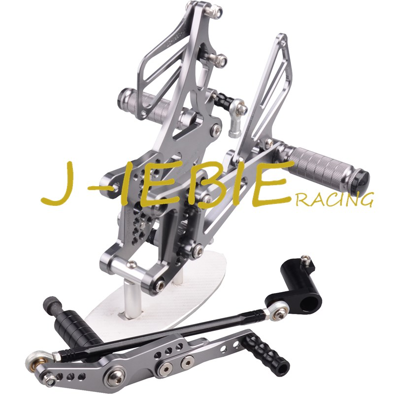 CNC Racing Rearset Adjustable Rear Sets Foot pegs Fit For Yamaha YZF R1 2007 2008 TITAINUM morais r the hundred foot journey