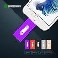 Для iPhone6 Plus 6 5S USB Flash Drive HD мемори стик двойного назначения iOS Android мобильного OTG MicroUSB Pendrive 32 ГБ 64 ГБ