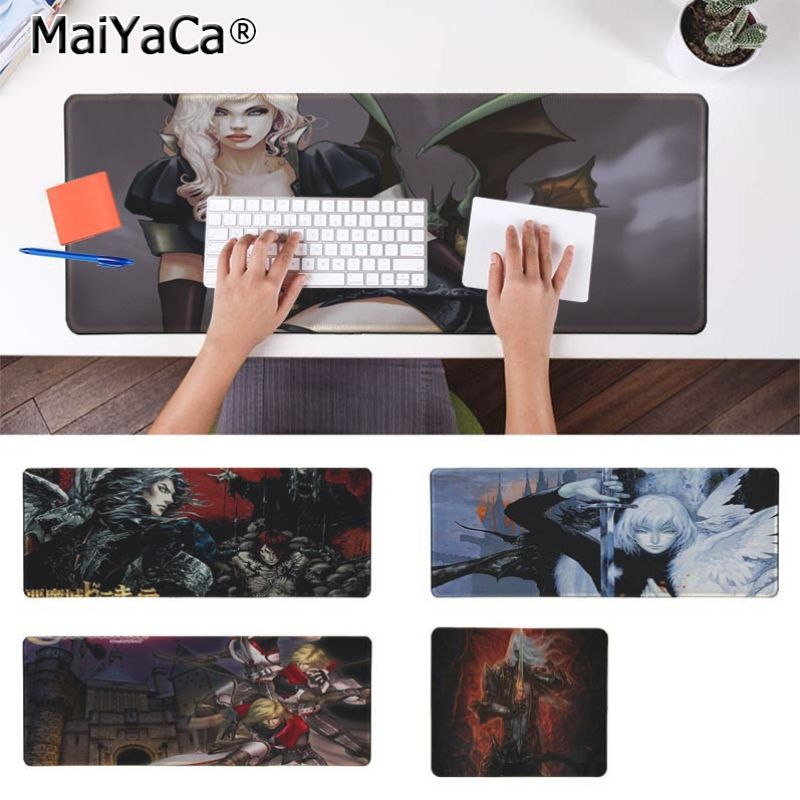 Yinuoda Cool New Castlevania Keyboard Gaming MousePads Size for 18x22cm 20x25cm 25x29cm 30x90cm 40x90cm