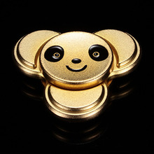 Alloy Fidget Spiner metal panda sheild finger Fidget spiner For Autism ADHD Anxiety Stress Relief Toys