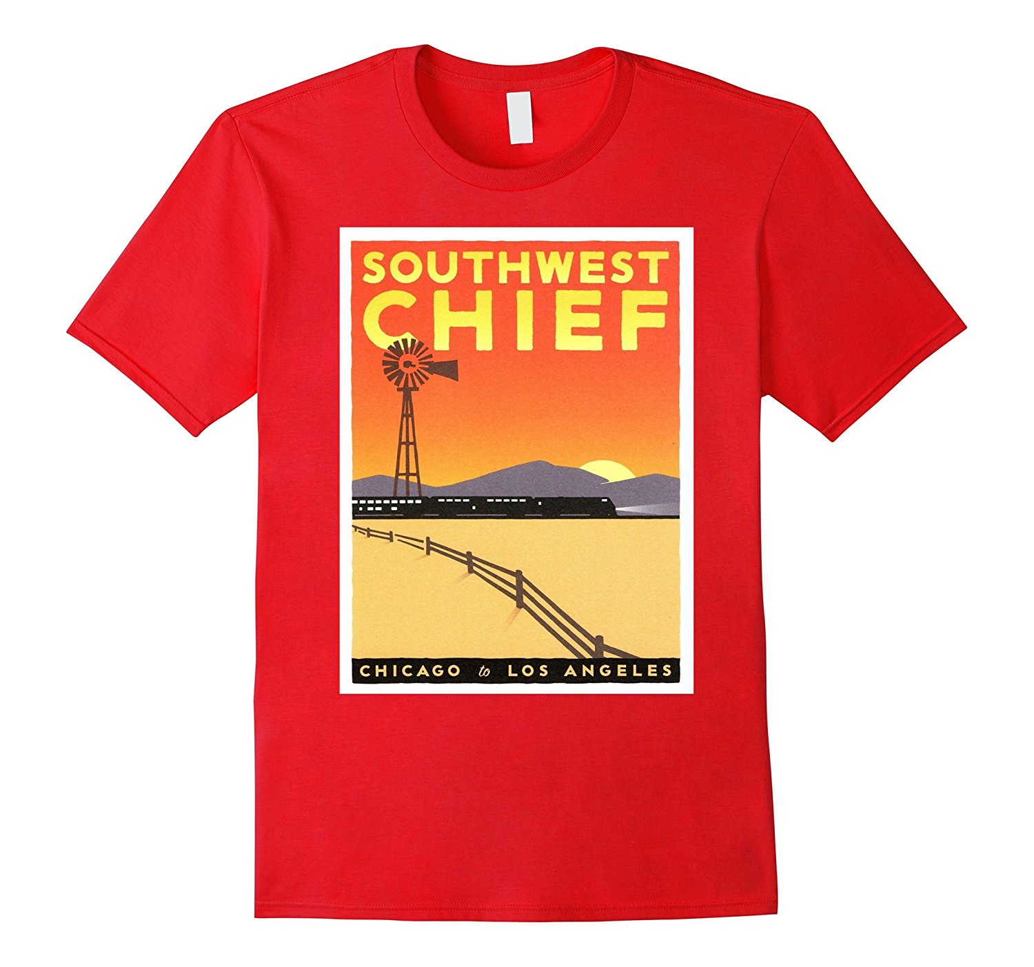 Gildan Southwest Chief Retro T-Shirt