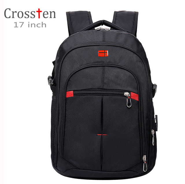 Crossten versatile Swiss Travel Bags Laptop Backpack 15.6